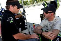 Scott Sharp and David Brabham