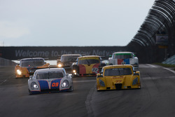 #09 Spirit of Daytona Racing Porsche Coyote: Marc-Antoine Camirand, Guy Cosmo, #77 Doran Racing Ford