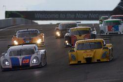 #09 Spirit of Daytona Racing Porsche Coyote: Marc-Antoine Camirand, Guy Cosmo, #77 Doran Racing Ford Dallara: Memo Gidley, Brad Jaeger