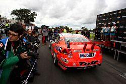 Winning car of Garth Tander
