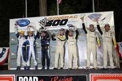GT2 podium