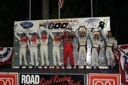 P1 podium