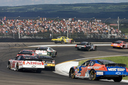 Denny Hamlin heads back to track