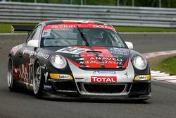 #141 Olivier Baron (Emeraude Racing) Porsche 911 GT3 Cup S: Remy Brouard, Philippe Noziere, Thierry Stepec, Tony Samon
