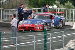Retired with blown-up engine, #116 Signa Motorsport Dodge Viper CC