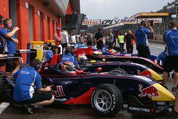 The four Carlin Dallaras