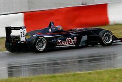 Daniel Ricciardo SG Formula Dallara-Mercedes
