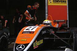 Yann Clairay SG Formula Dallara-Mercedes