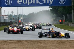 #12 Mika Maki Mucke Dallara-Mercedes; #30 Daniel Campos-Hull HBR Motorsport Dallara-Mercedes