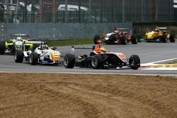 Henkie Waldschmidt (SG), Formula Dallara-Mercedes ; Stefano Coletti, Prema Powerteam, Dallara-Mercedes ; Sam Bird, Manor, Dallara-Mercedes