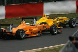 #31 Tom Dillman Jo Zeller Racing Dallara-Mercedes; #9 Michael Devaney Ultimate Motorsport Mygale-Mer