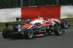 #15 Christian Vietoris Mucke Dallara-Mercedes; #14 Erik Janis Mucke Dallara-Mercedes
