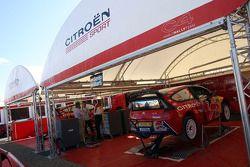 Zone de service Citroën Total WRT