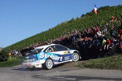 Gigi Galli and Giovanni Bernacchini, Stobart VK M-Sport Ford World Rally Team, Ford Focus RS WRC