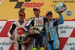 Podium: 1. Valentino Rossi, 2. Toni Elias, 3. Loris Capirossi