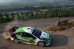 François Duval and Patrick Pivato, Stobart VK M-Sport Ford World Rally Team