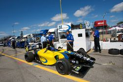 Mathiasen Motorsports team gets ready for the race