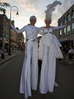 Street performers in Trois-Rivières