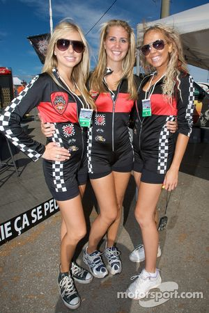 The charming Full Throttle girls