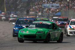 #145 Freedom Autosport Mazda MX-5: Jim Daniels, Derek Whitis