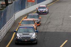 #111 ICY/ Phoenix Racing Subaru Legacy: Chuck Hemmingson, Kristian Skavnes