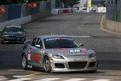 #49 Brass Mitchell Racing Mazda RX-8: Tony Rivera, Stuart Robinson