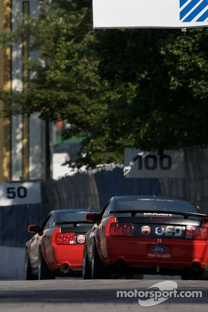 #60 Rehagen Racing Ford Mustang GT: Mike Canney, Hugh Plumb