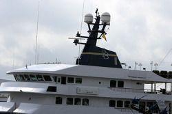 The boat of Flavio Briatore, Renault F1 Team, Team Chief, Managing Director