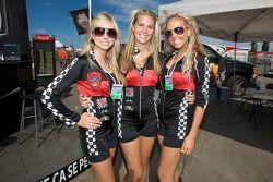 The charming Full Throttle girls