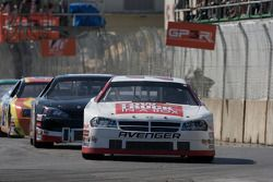 Scott Steckly leads J.R. Fitzpatrick and Andrew Ranger under yellow