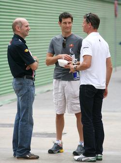 Adrian Newey, Mark Webber, Red Bull Racing, David Coulthard, Red Bull Racing