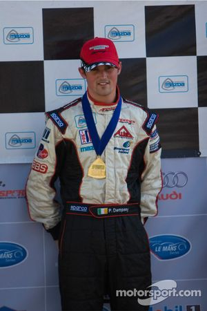 Race winner Peter Dempsey