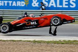 Dani Clos' accident (Prema Powerteam Dallara-Mercedes)