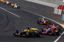 Andy Soucek leads Bruno Senna, Jerome D'Ambrosio and Giorgio Pantano