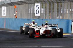 Romain Grosjean leads Lucas di Grassi