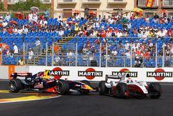 Luca Filippi and Romain Grosjean