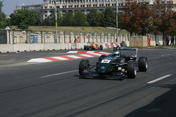Jay Bridger in the first chicane