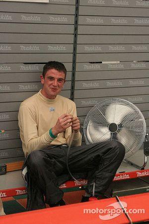 Hywel Lloyd keeps cool