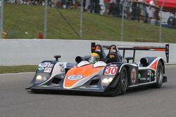 #30 Intersport Racing Lola B06/10 AER: Ryan Lewis, John Faulkner