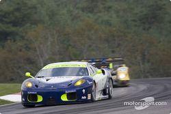 #73 Tafel Racing Ferrari F430 GT: Alex Figge, Jim Tafel