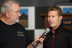 Detroit Grand Prix media lunch at the Detroit Yacht Club: Ryan Briscoe