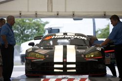#11 Primetime Race Group Dodge Viper Competition Coupe at technical inspection