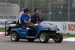 Track inspection: Alex Figge and Jim Tafel