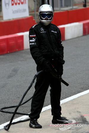 Член команды Mercedes