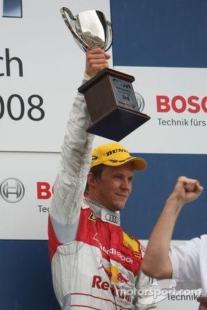 Podium: troisième place Mattias Ekström