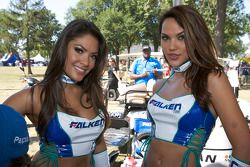 The lovely Falken Tire girls