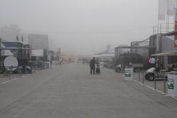 Le brouillard matinal