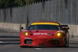 #61 Risi Competizione Ferrari F430 GT: Harrison Brix, Robert Bell
