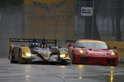 #26 Andretti Green Racing Acura ARX-01B Acura: Franck Montagny, James Rossiter and #61 Risi Competiz