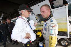 GT1 pole winner Jan Magnussen
